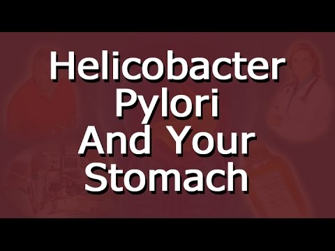 Helicobacter Pylori And Your Stomach