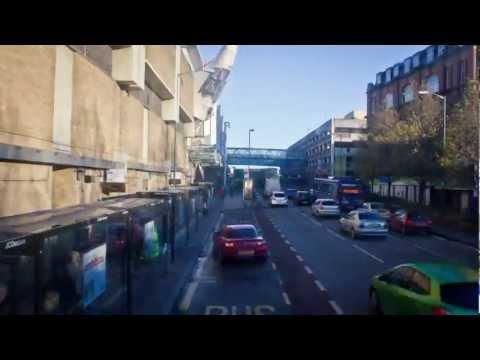 Nottingham Bus Timelapse