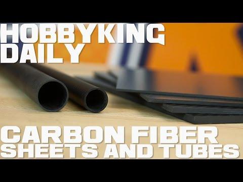 Carbon Fiber Sheets and Tubes - HobbyKing Daily