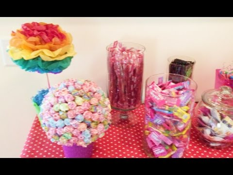 CANDY THEME BIRTHDAY PARTY | DAY 903