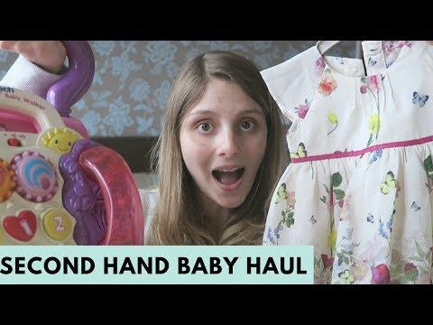 SECOND HAND BABY HAUL - BABY GIRL HAUL 2017