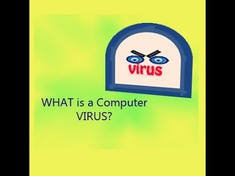 What is a computer virus - simple explanation