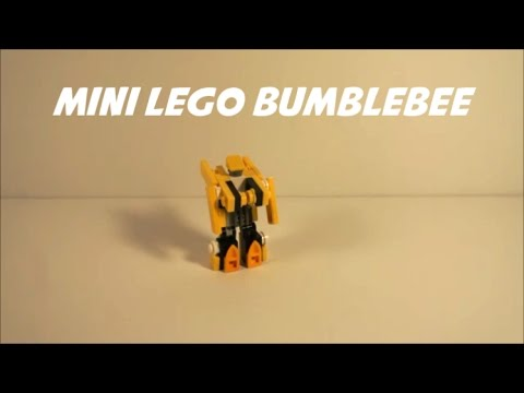 How To Build A Mini Lego Bumblebee