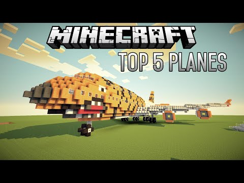 Top 5 INSANE Minecraft Planes And Aircraft (July 2015 1.8.7)