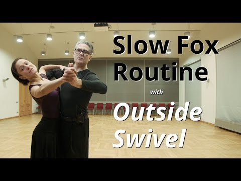 Foxtrot Routine | Swivel and Weave + Ballroom Dance Figures