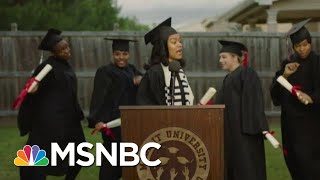 Teyana Taylor Explains 'Made It' Video As Her Daughter Interrupts News Interview | MSNBC