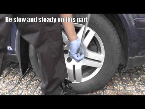 How to Remove a Locking Wheel Nut WITHOUT the Key