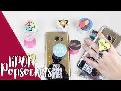 DIY KPOP: MAKE YOUR OWN POPSOCKETS! |K-freakEnglish| RV, EXO, ASTRO, BTS, GOT7, BB, SEVENTEEN