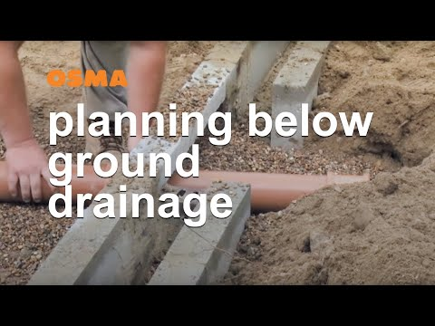 Planning your foul water and below ground drainage system