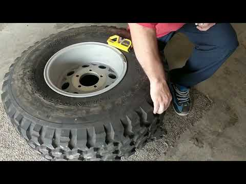How to measure a 5 bolt lug pattern