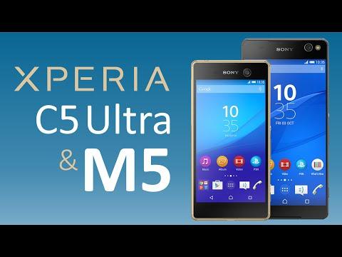 Sony Xperia M5 y C5 Ultra: Análisis de Características (Español)