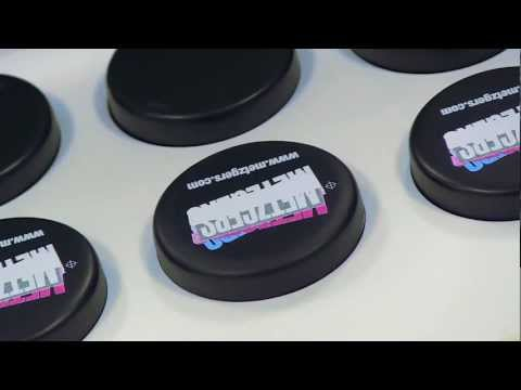 Personalized Hockey Pucks - From Metzgers