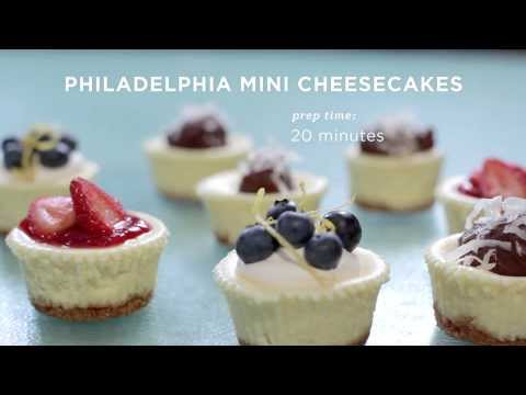 Philadelphia Mini Cheesecake