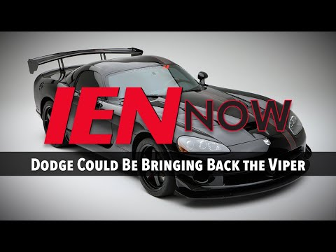 IEN NOW: Dodge Could Be Bringing Back the Viper