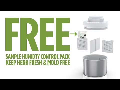 Free herb humidity control sample offer