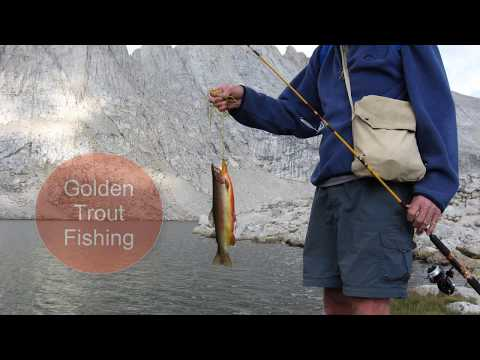 Awesome Golden Trout Fishing Lakes