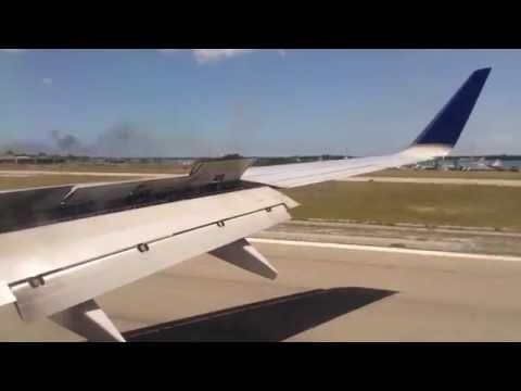 SMOOTH | United B737-800 Landing In Aruba!