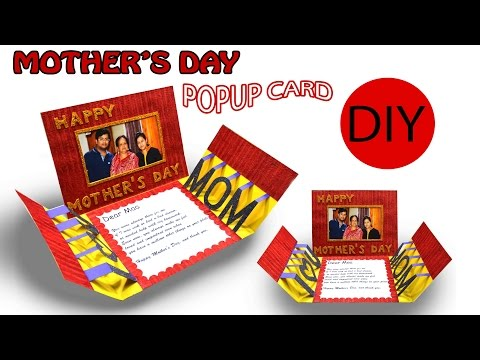 DIY   POPUP CARD   Mother's day Special   Art with Creativity 198