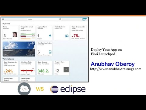 Deploy Custom Fiori App to Launchpad | Fiori Security Concepts in nutshell