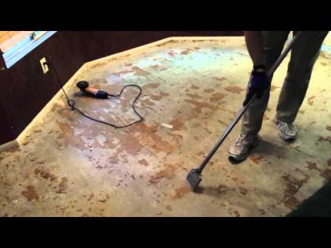 Remove Glue Down Wood Flooring