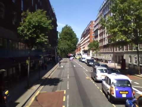 Hacia la escuela Bus 59 towards King's Cross St Pancras Intl
