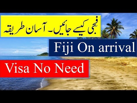 How To Get Fiji Visa and Visa Free Entry.