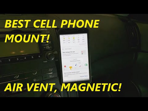 REVIEW OTEMIK Universal Air Vent Magnetic Cell Phone Mount
