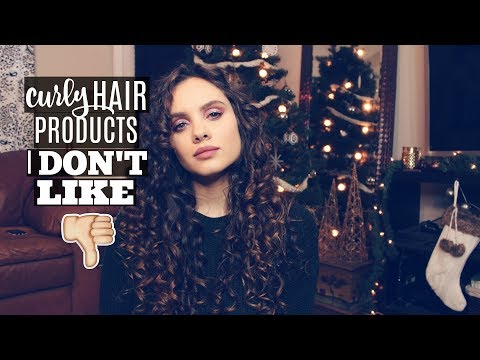 Disappointing Curly Hair Products #2