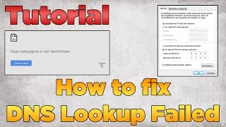 Download How to fix DNS Lookup Failed | Tutorial 2015 (Windows) Video