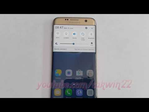 Samsung Galaxy S7 Edge : How to find my phone number