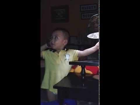 Funny Moment - A Cute Baby Learn to Speak Bahasa