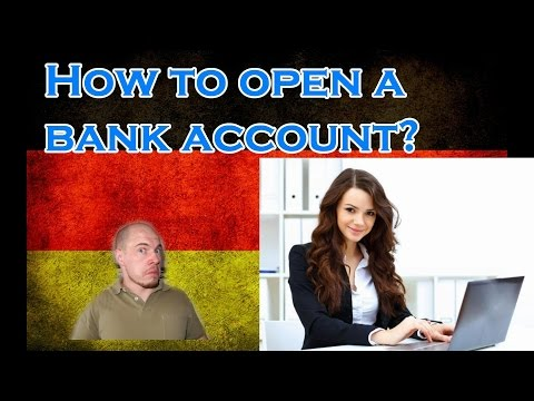 Germany, how it is: How to open a bank account?