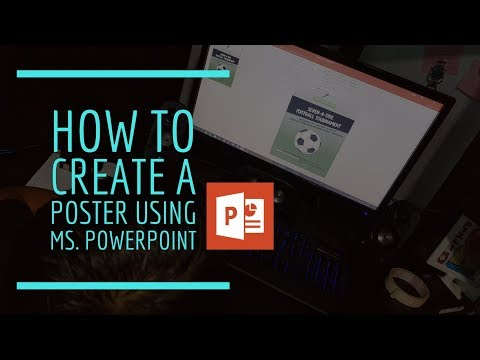 How To Create A Poster Using Ms. Powerpoint