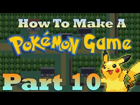 How To Make a Pokemon Game in RPG Maker - Part 10: Following Pokemon