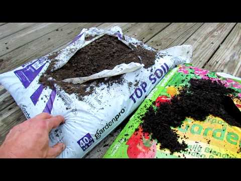 What Does Topsoil, Garden Soil, Raised Bed Soil and Potting Mix Mean?