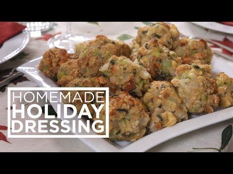 Homemade Holiday Dressing