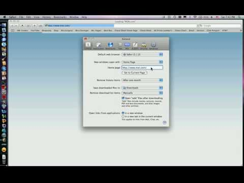 How To Change Safari Home Page