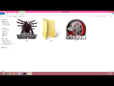 How to hide folder using command prompt cmd