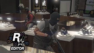 Diamond Shopping The Movie | Rockstar Editor | GTA 5 Online