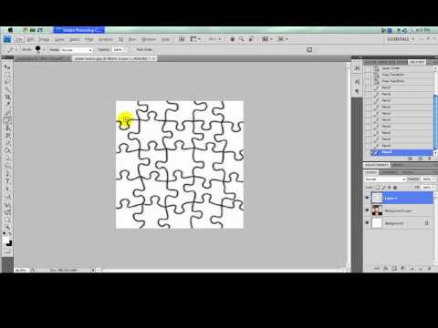 how to make picture to jigsaw puzzle.mp4