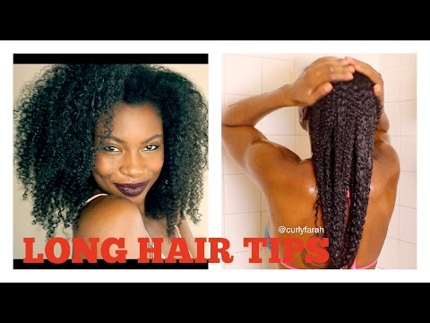 MY TOP 3 TIPS FOR LONG NATURAL HAIR