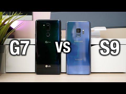 Samsung Galaxy S9 vs LG G7 ThinQ - Tough comparison
