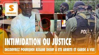 Assane Diouf, accusé d'appel à l'insurrection: Les minutes de l'arrestation, échanges avec les flics