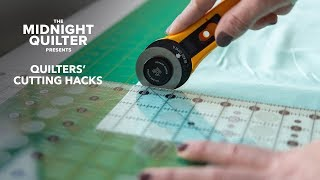 5 Cutting Hacks for Quilters ✂️ The Midnight Quilter Presents with Angela Walters