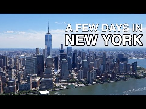 New York: Helicopter Tour, Time Lapses, and a Storm