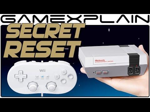NES Classic Has Secret Reset Option Using Wii Classic Controller