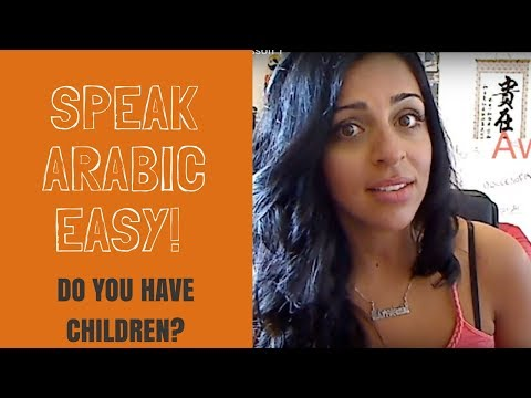 Speak Arabic easy - Lesson 1