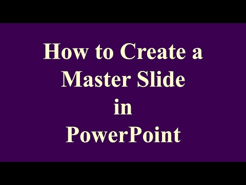 How to Create Master Slide in PowerPoint | Step-by-Step Tutorial