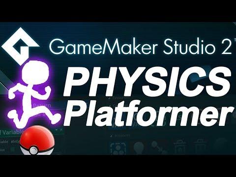 Game Maker Studio 2: 2D physics platformer - Drag and Drop (DnD) no coding