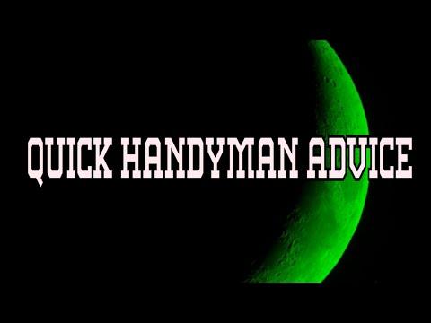 Basics of starting a Handyman business.